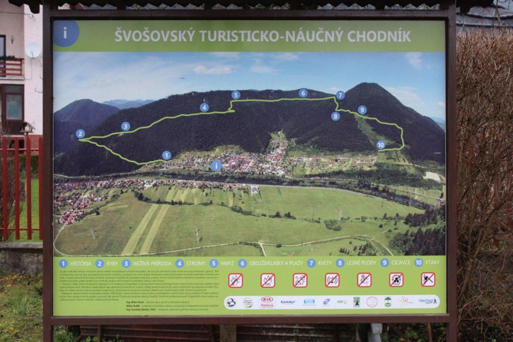 Švošovský turisticko-náučný chodník 15