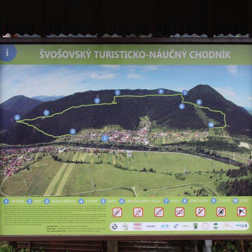 Educational-hiking trail of Švošov