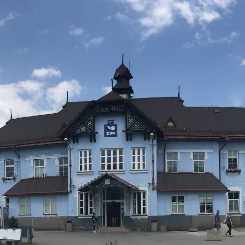 Železničná stanica v Ružomberku