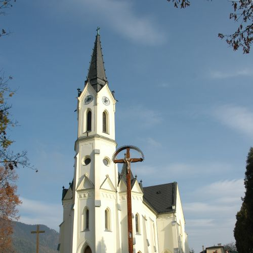 Church of Virgin Mary of Rosary in Černová