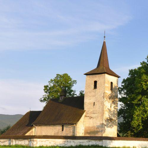 All Saints Church in Ludrová – Kút