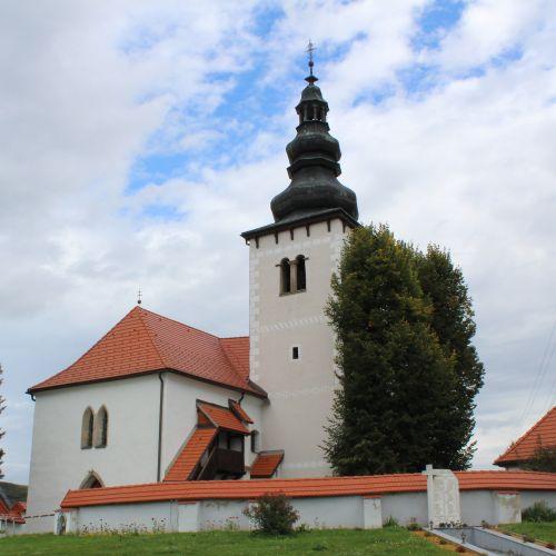 Church of St. Simon and Jude in Liptovské Sliače