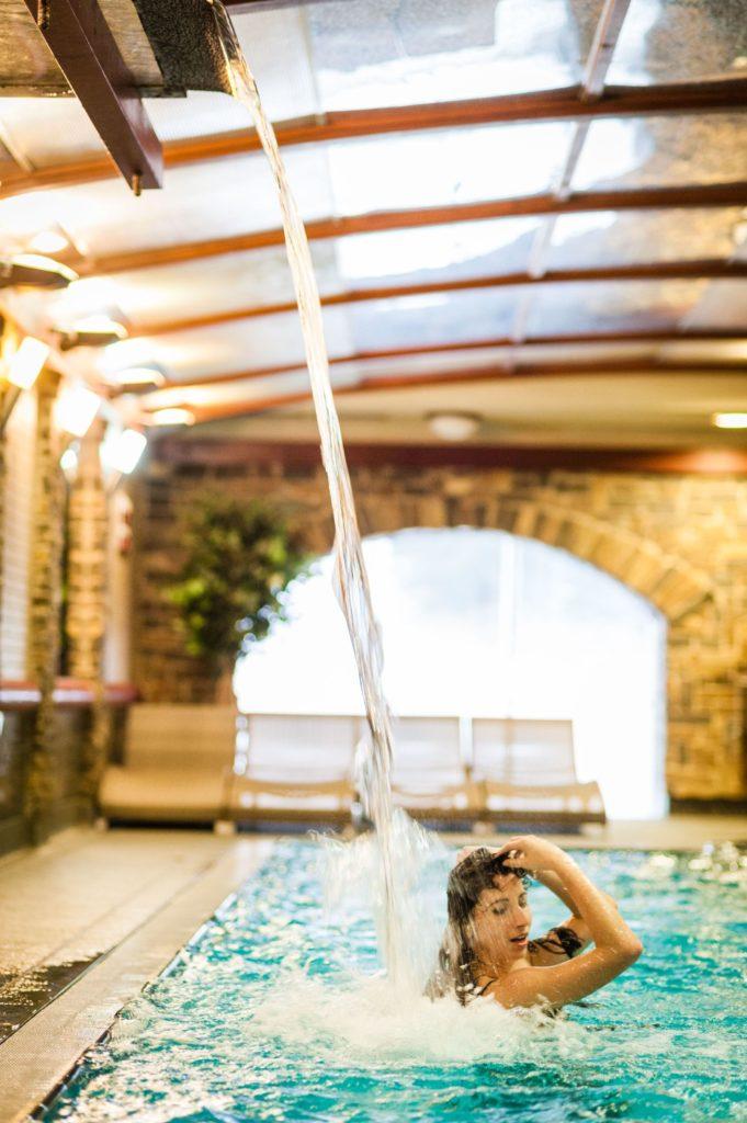Bazén v Hoteli Áčko 15