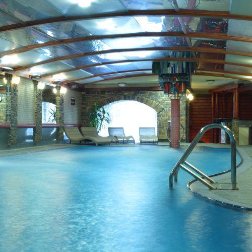 Bazén v Hoteli Áčko