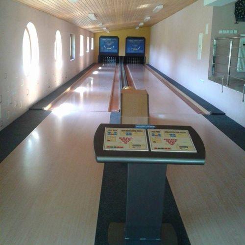 Bowling v Moteli Ranč