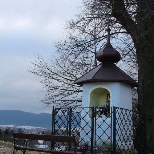 Kaplnka Liptovské Sliače – Nižný, nad vstupom do obce