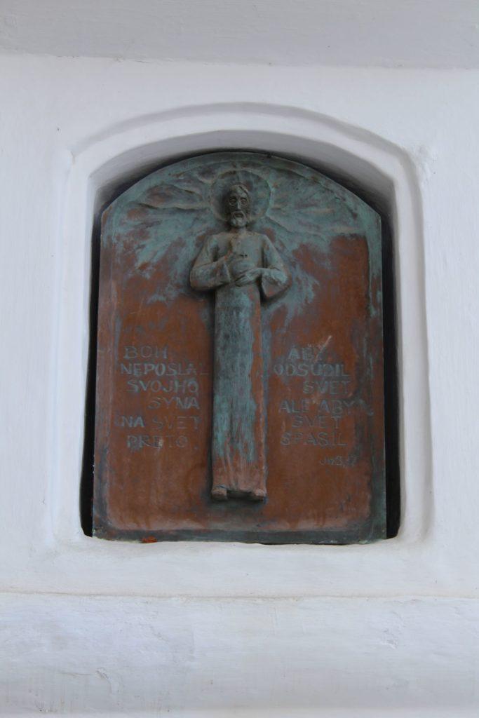 Kaplnka Liptovské Sliače – Stredný, križovatka Školská – K Medokýšu