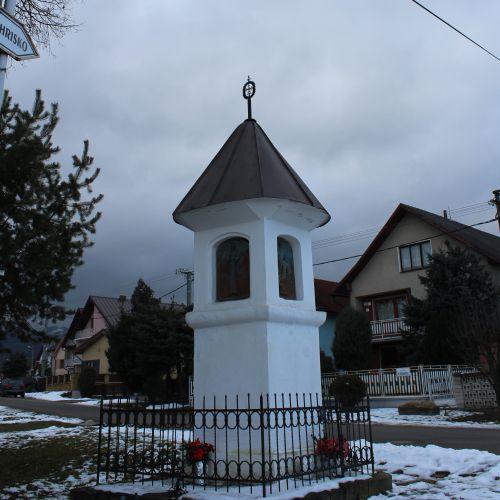 Chapel of Liptovské Sliače – Stredný, at the intersection of Školská – K Medokýšu