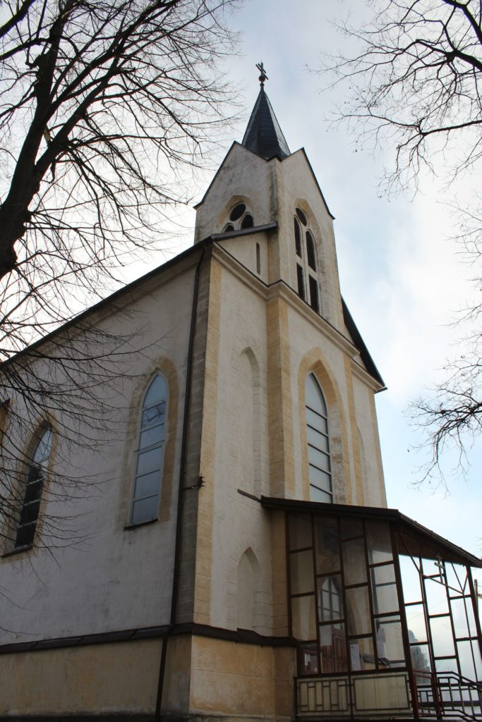 Church of the Assumption of Virgin Mary in Biely Potok