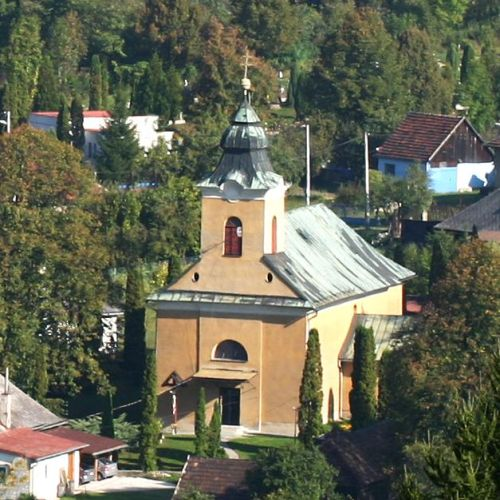 Church of St. Catherine of Alexandria in Hrboltová