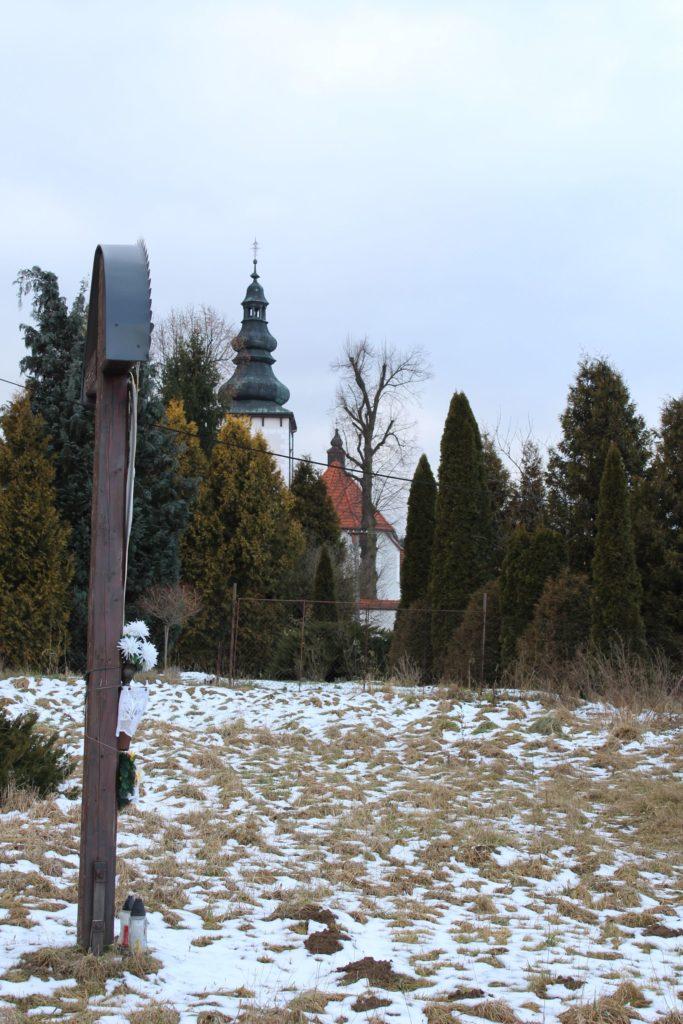 Kríž Liptovské Sliače - Stredný, pri cintoríne