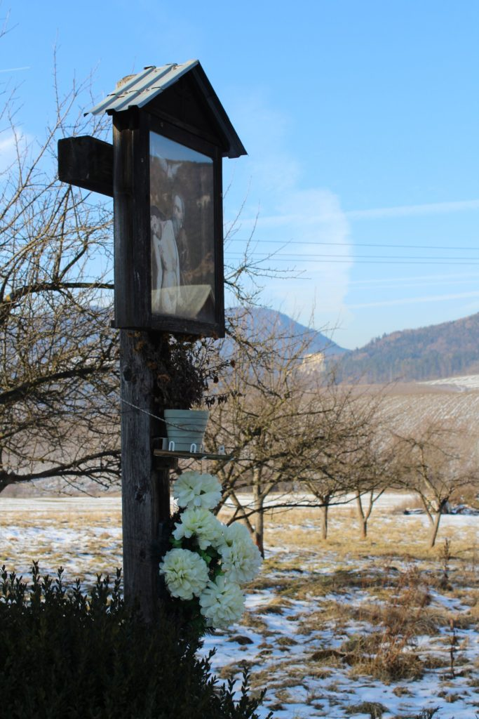 Cross of Martinček, entryway to the town