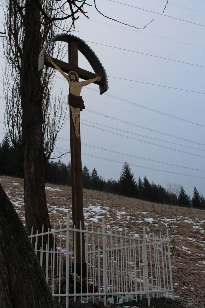 Kríž Nová Černová, Pod Milkov