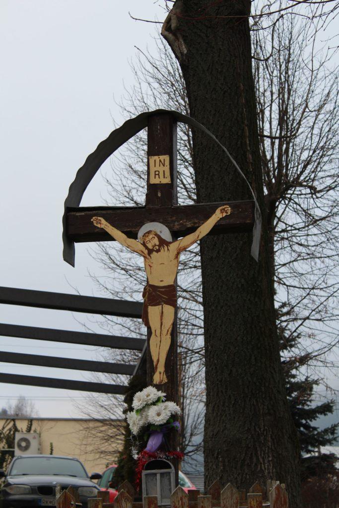 Cross of Nová Černová, at the intersection of Čutkovská - Žilinská cesta