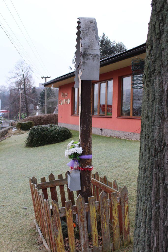Kríž Nová Černová, križovatka Čutkovská - Žilinská cesta