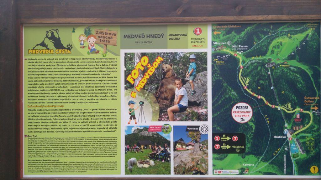 Náučný chodník Medvedia cesta 02