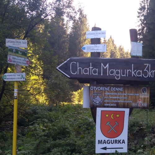 From the Ľupčianska Valley to Mining Town Magurka with Children