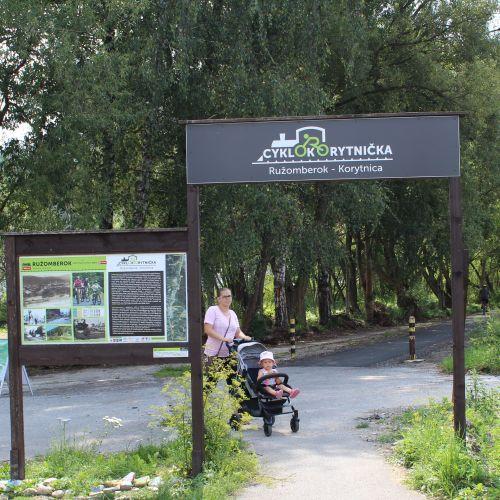 Z Bieleho Potoka na Podsuchú s deťmi (Cyklokorytničkou)