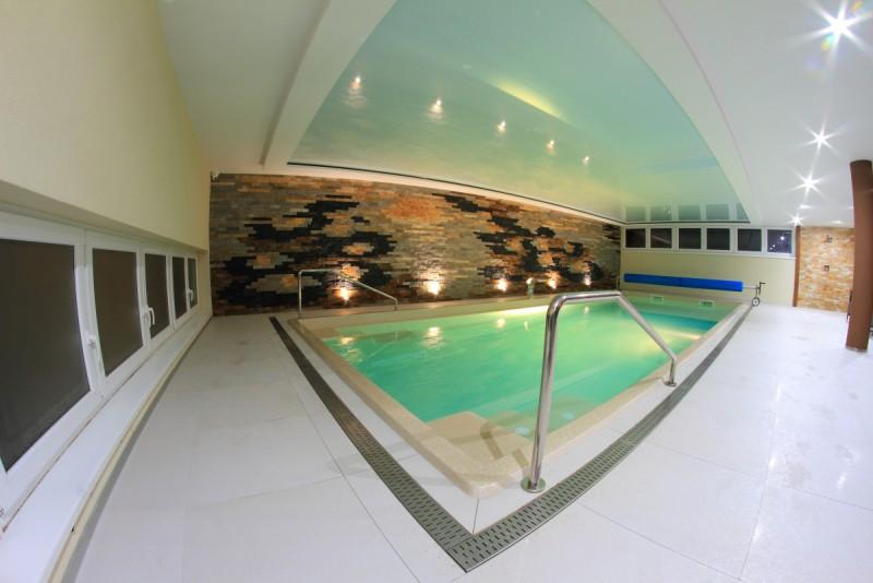 Bazén v Penzióne Blesk 01