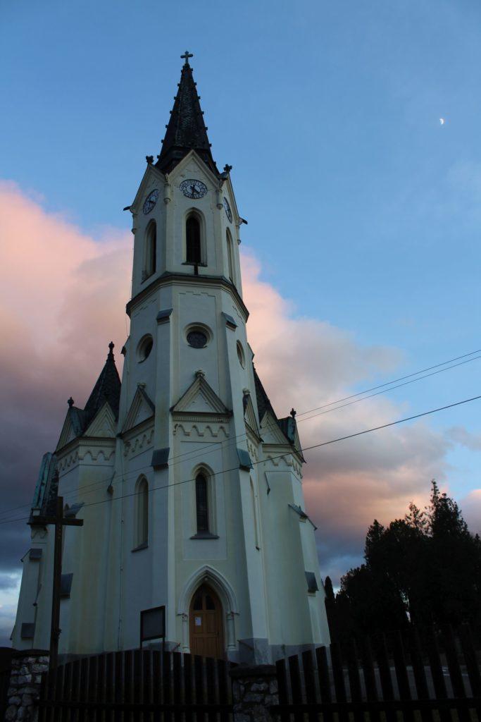 Kostol Panny Márie Ružencovej v Černovej 06