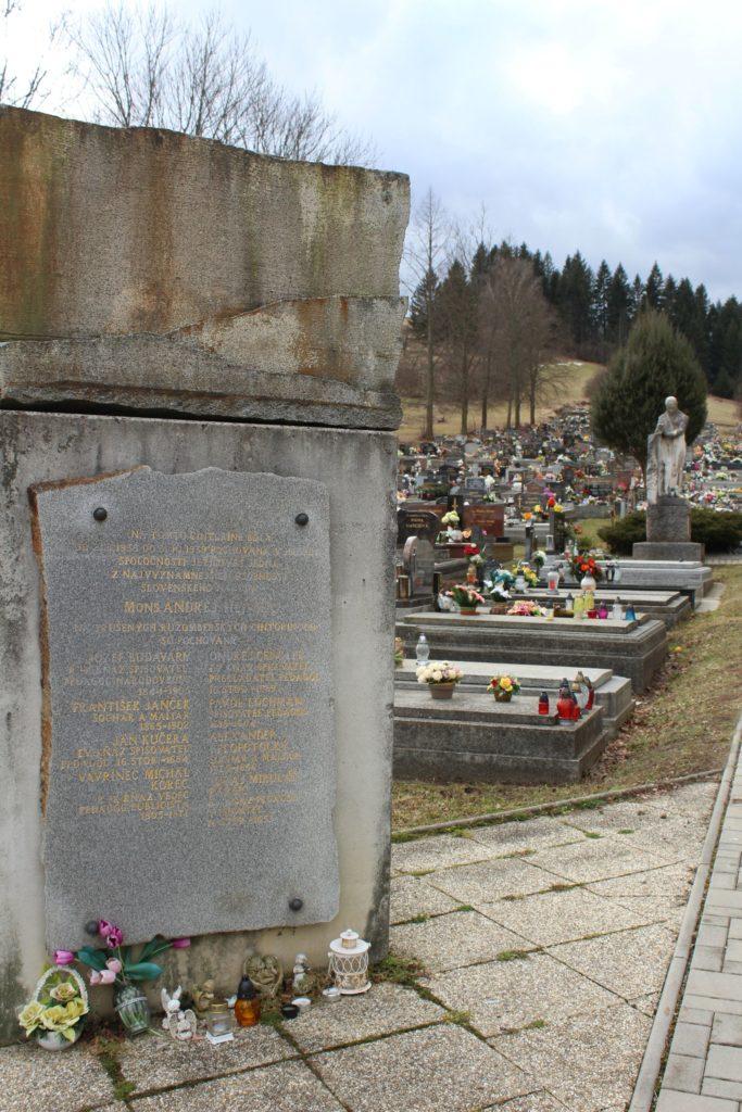 Mestský cintorín v Ružomberku 14