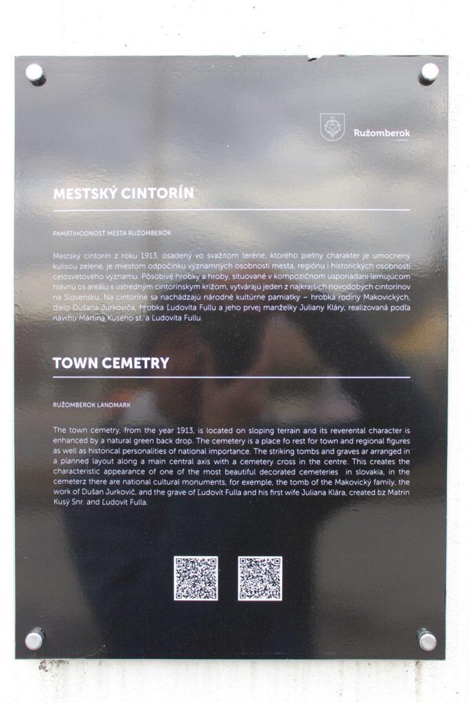 Mestský cintorín v Ružomberku 16