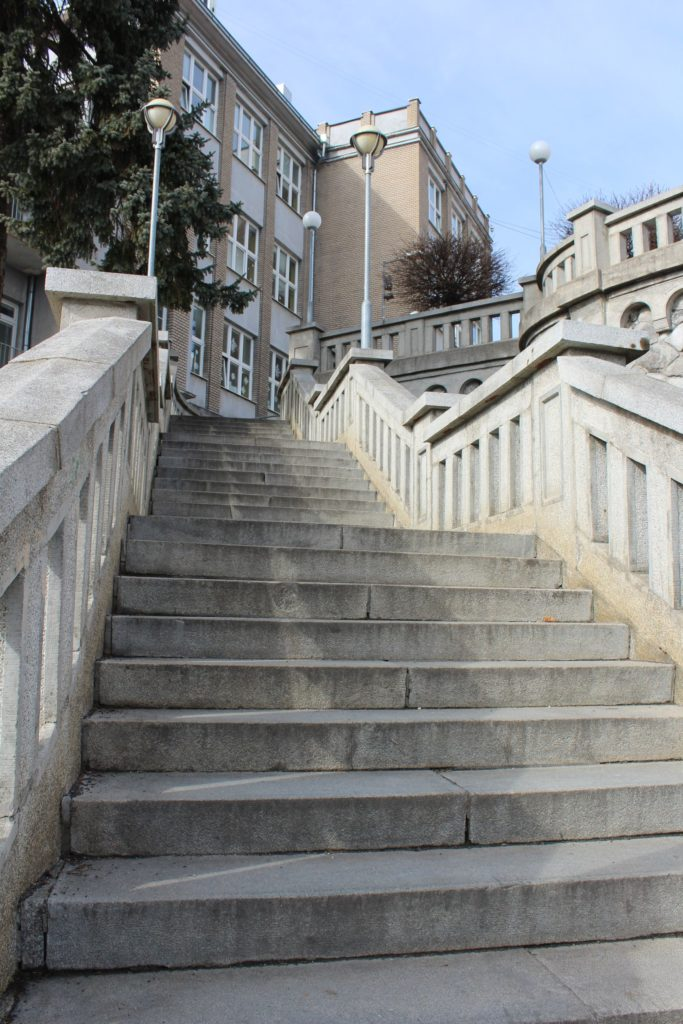 Ružomberské schody - Školské schody 03