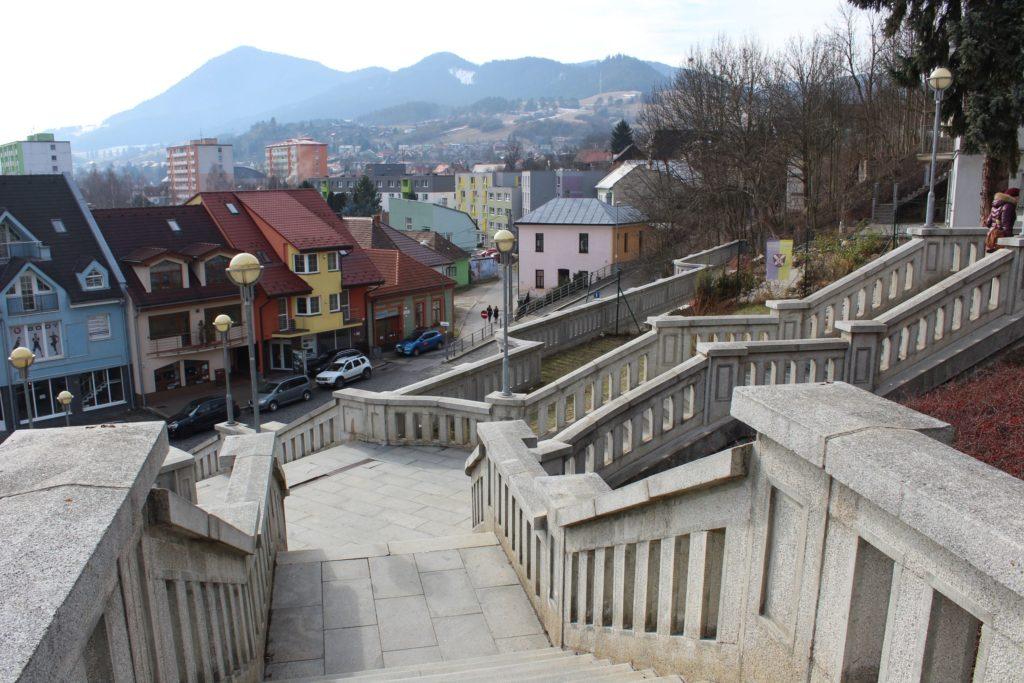 Ružomberské schody - Školské schody 05