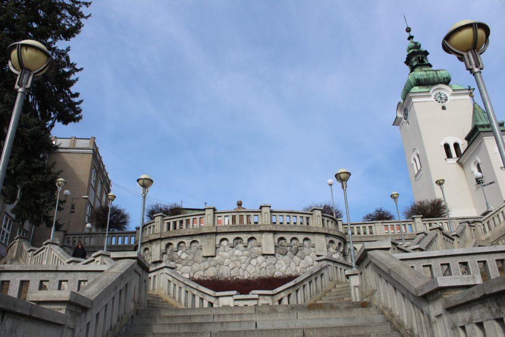 Ružomberské schody - Školské schody 06