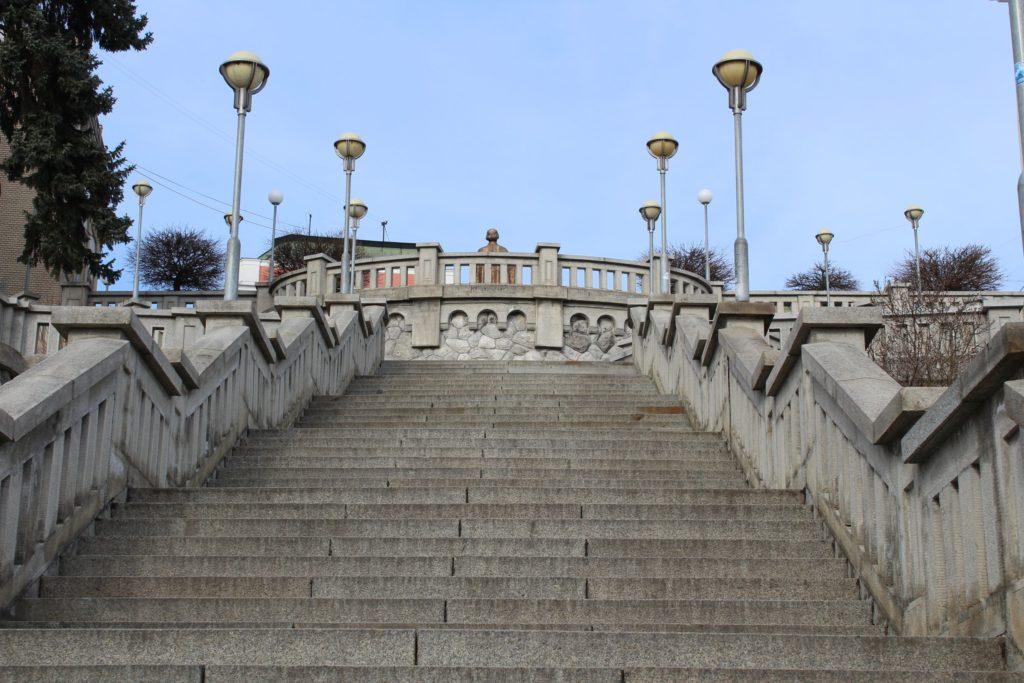 Ružomberské schody - Školské schody 09