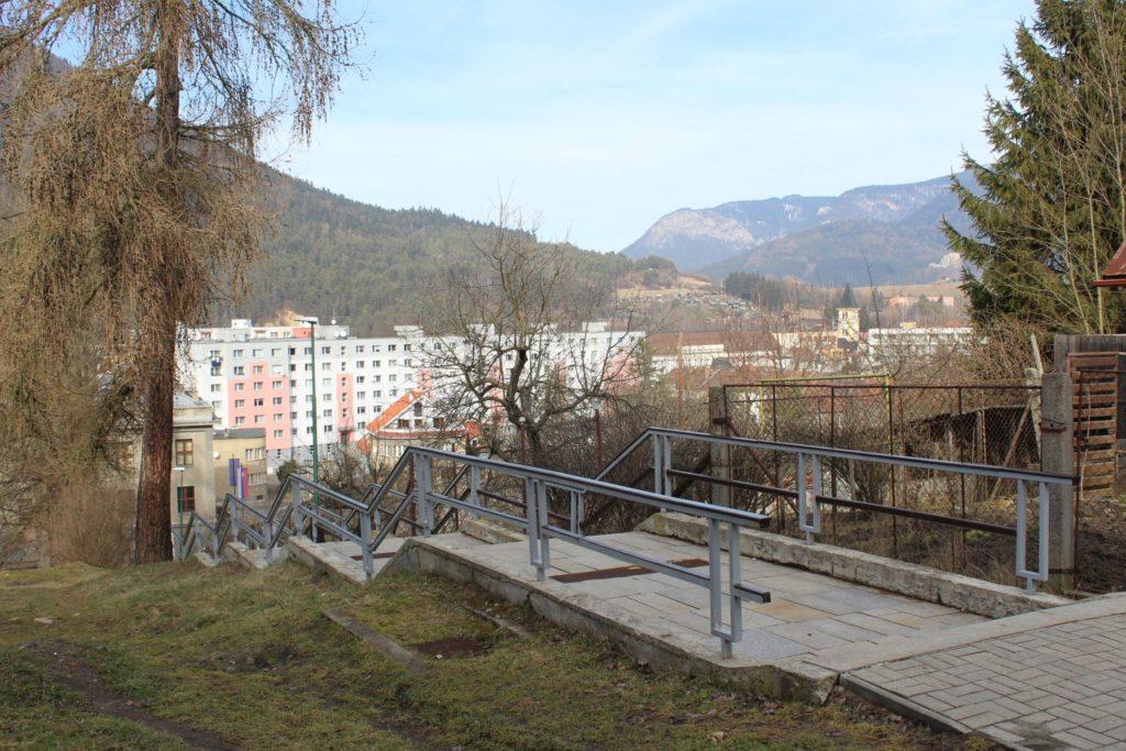 Ružomberské schody - Kláštorné schody 03