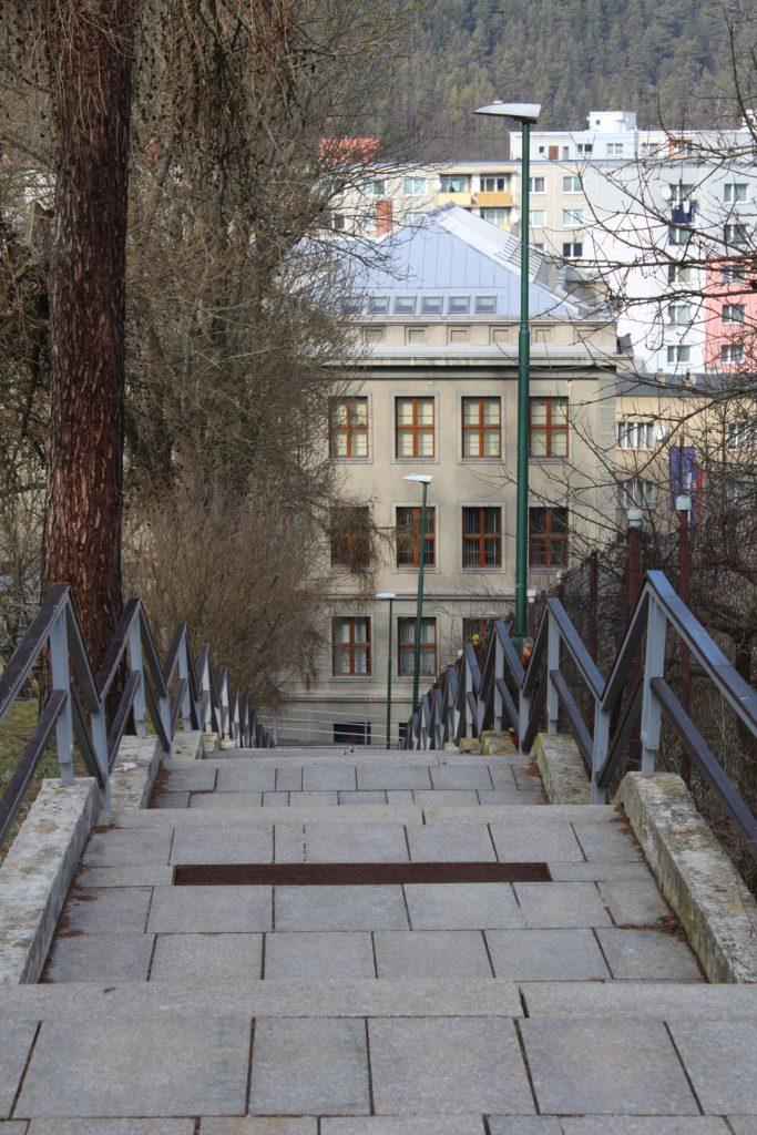 Ružomberské schody - Kláštorné schody 04