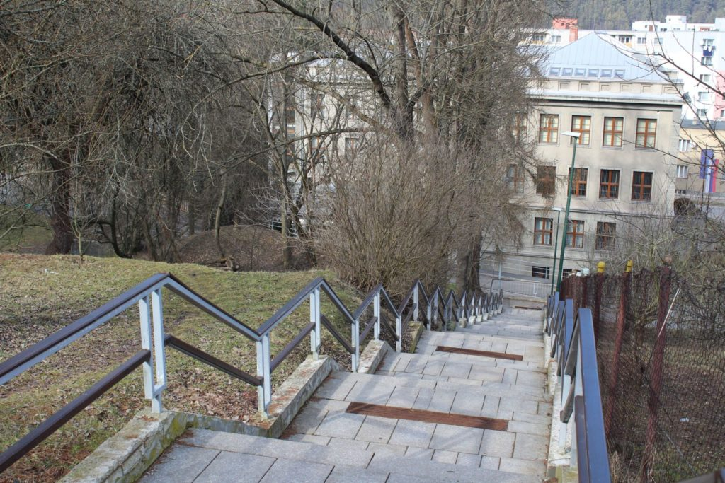 Ružomberské schody - Kláštorné schody 05