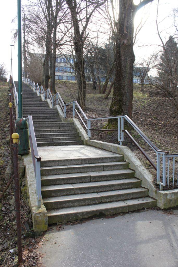 Ružomberské schody - Kláštorné schody 07