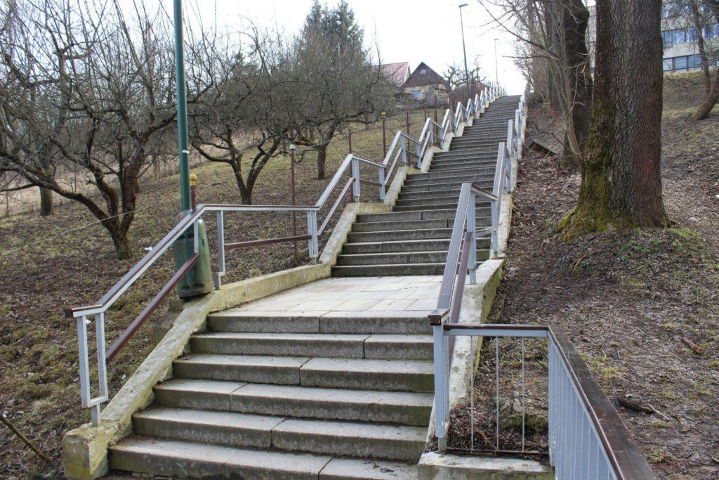 Ružomberské schody - Kláštorné schody 08