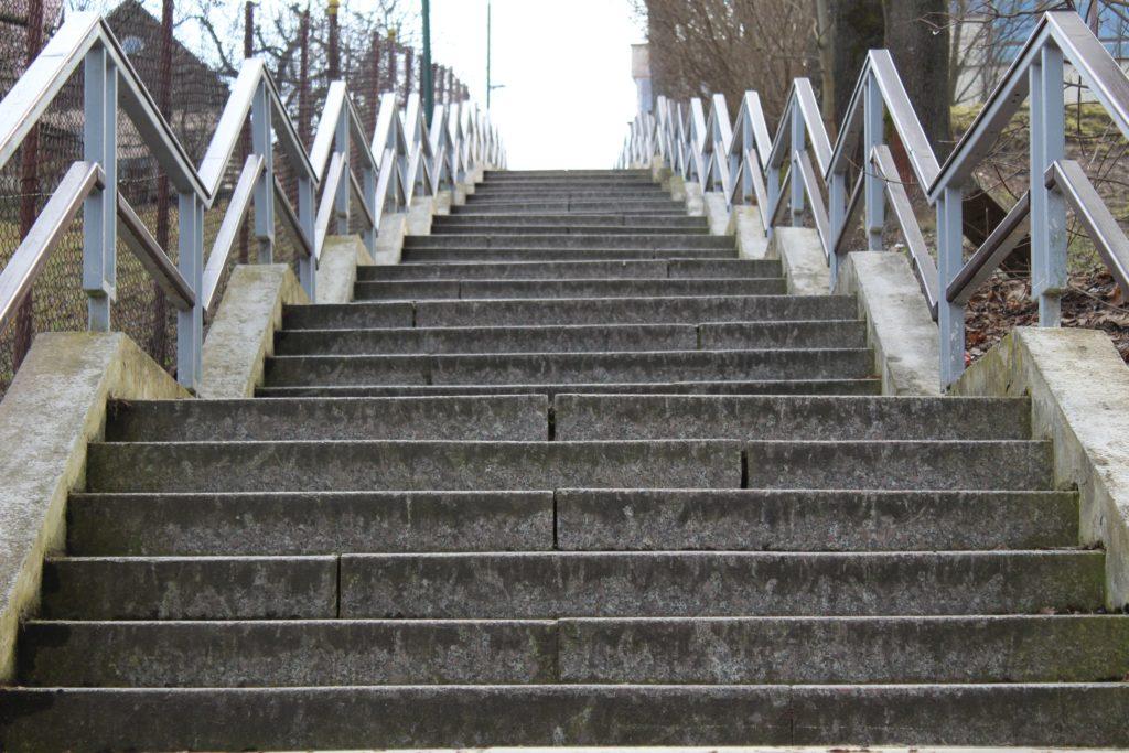 Ružomberské schody - Kláštorné schody 09