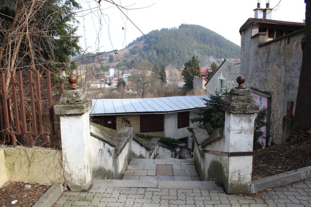 Ružomberské schody - Ružové schody 01