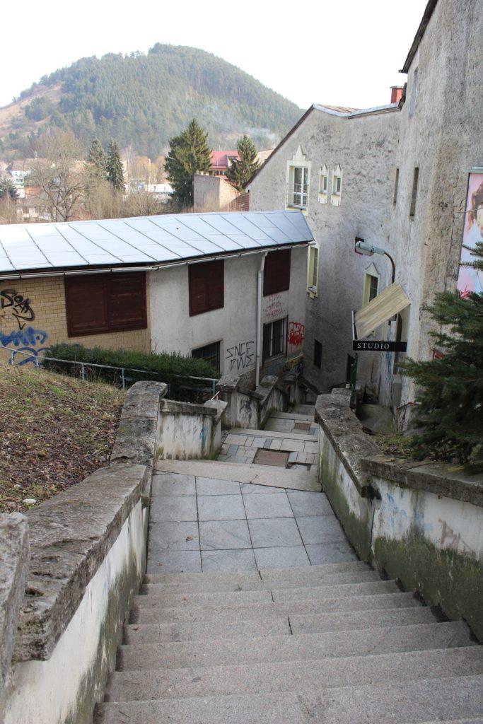 Ružomberské schody - Ružové schody 02