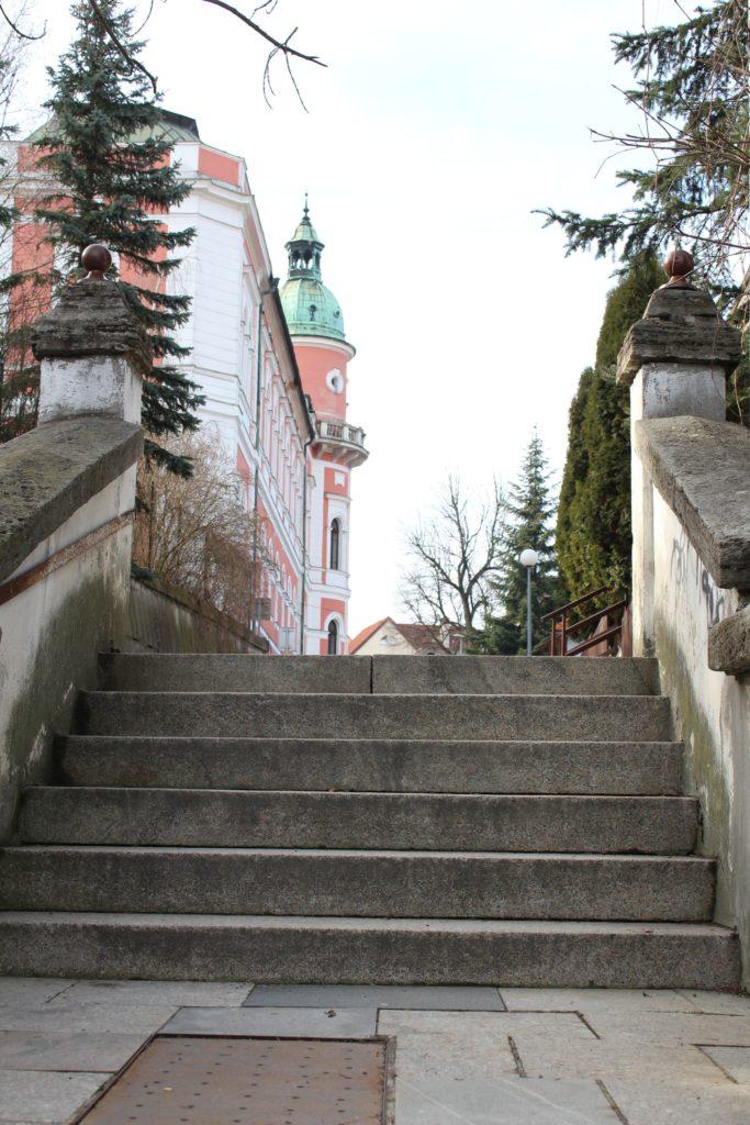 Ružomberské schody - Ružové schody 03