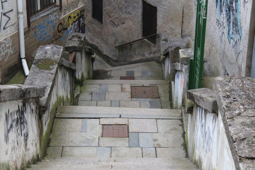 Ružomberské schody - Ružové schody 04