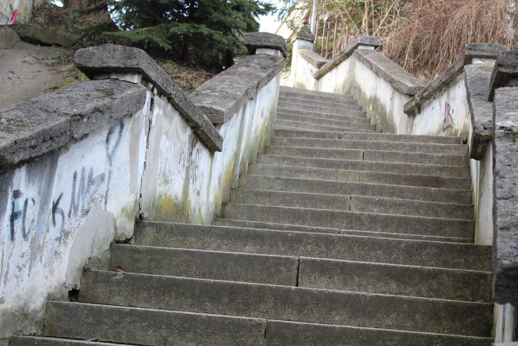 Ružomberské schody - Ružové schody 05