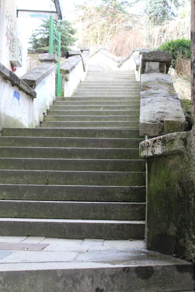 Ružomberské schody - Ružové schody 06