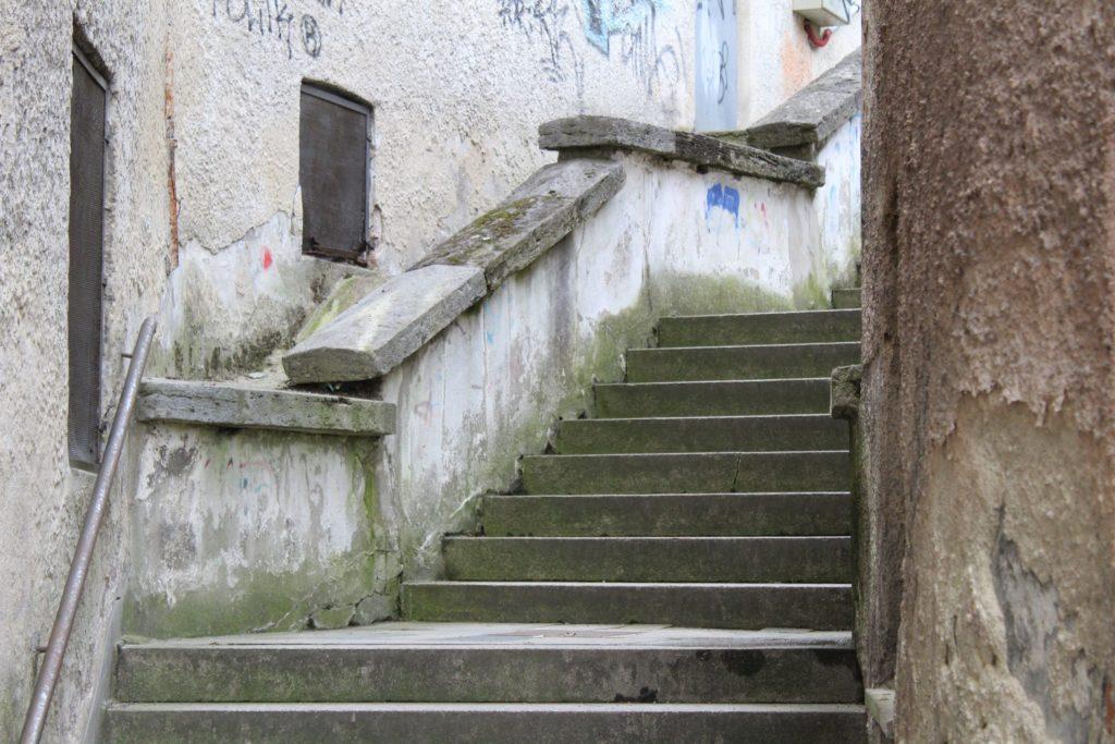 Ružomberské schody - Ružové schody 07