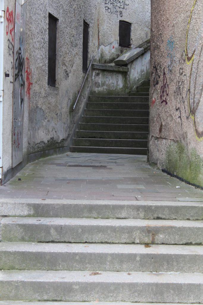 Ružomberské schody - Ružové schody 08