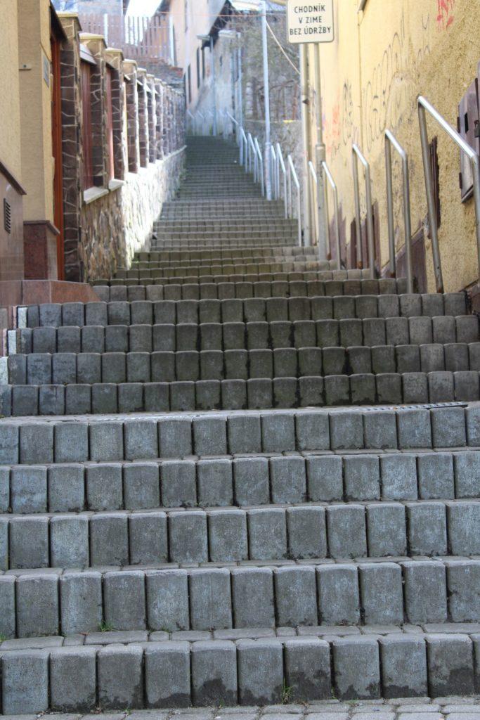 Ružomberské schody - Severná ulička 01