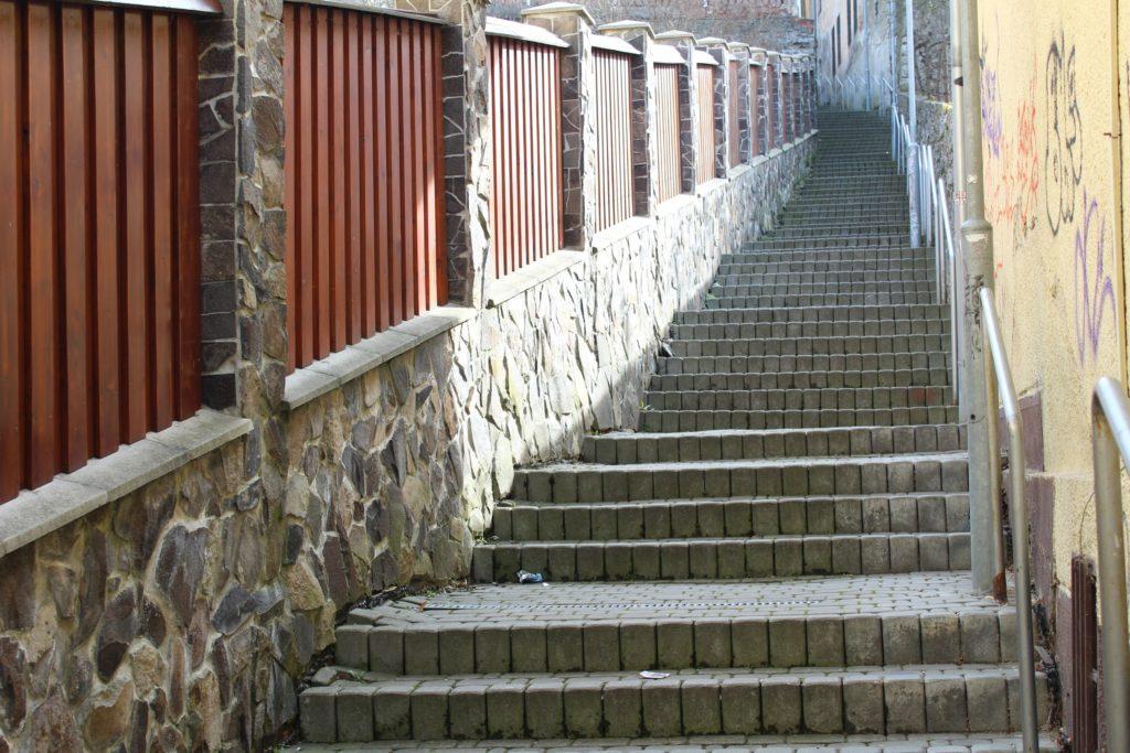 Ružomberské schody - Severná ulička 02