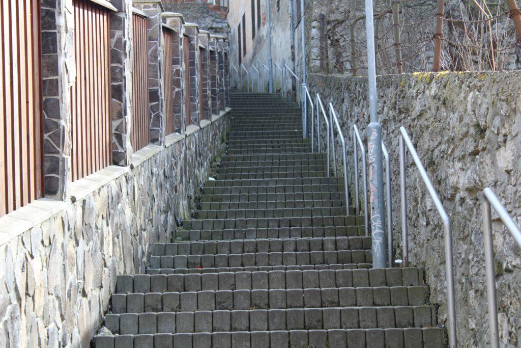 Ružomberské schody - Severná ulička 03