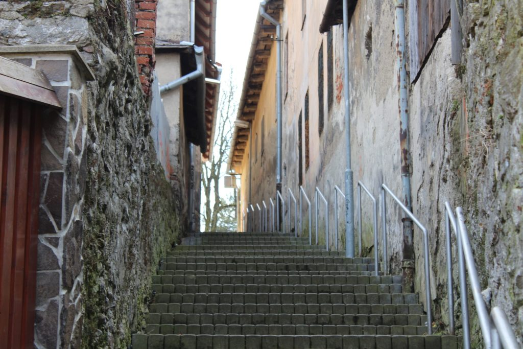 Ružomberské schody - Severná ulička 05