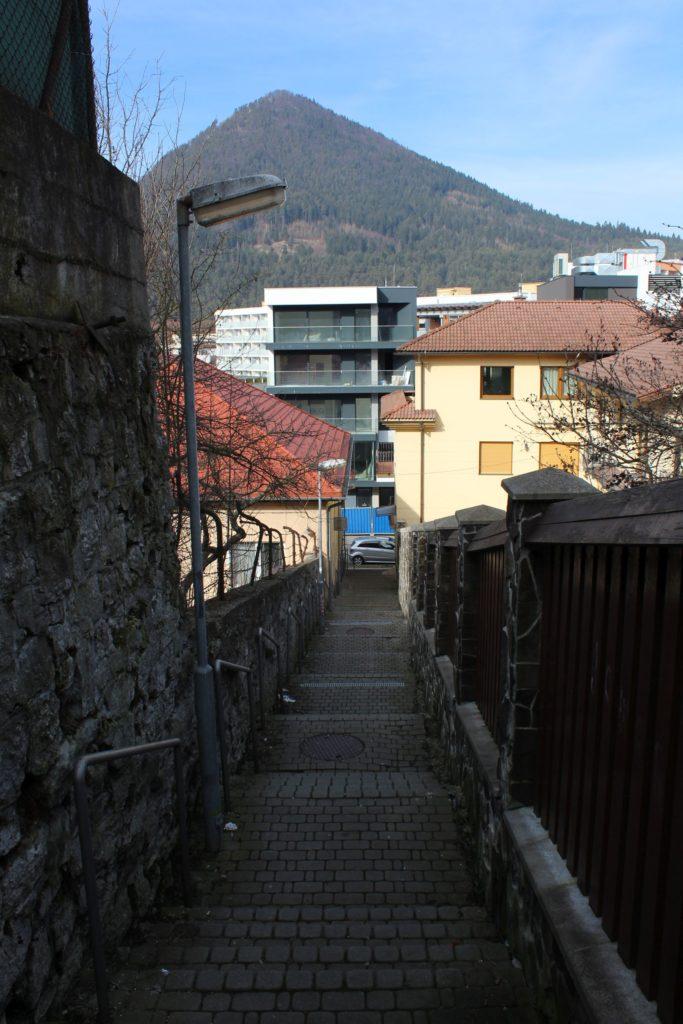 Ružomberské schody - Severná ulička 06
