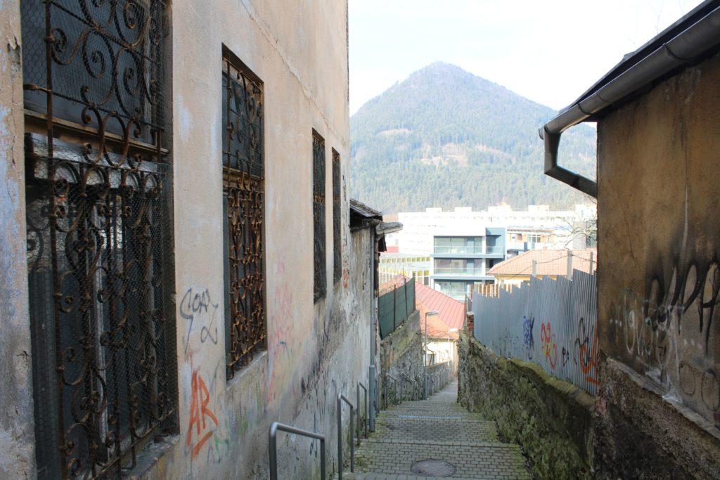 Ružomberské schody - Severná ulička 07